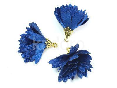 Kwiatek niebieski 30 mm - 1 sztuka