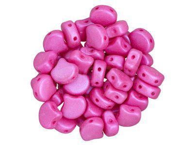 Ginko 7.5x7.5mm Chatoyant Hot Pink - 10 sztuk
