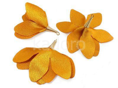 Kwiatek złoty 55 mm - 1 sztuka