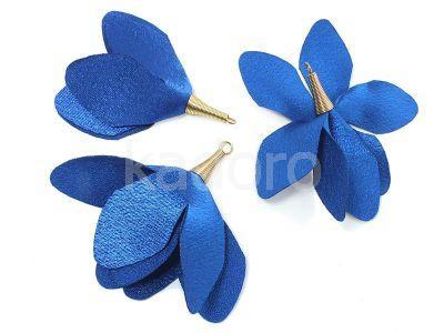Kwiatek niebieski 55 mm - 1 sztuka