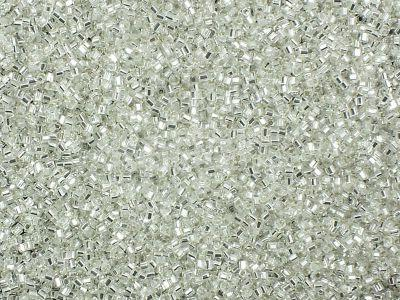 TOHO Hex 15o-21 Silver-Lined Crystal - 50 g