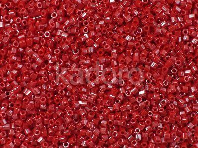 TOHO Hex 15o-125 Opaque-Lustered Cherry - 5 g