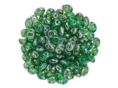 SuperDuo 2.5x5mm Emerald - Rembrandt - 10 g