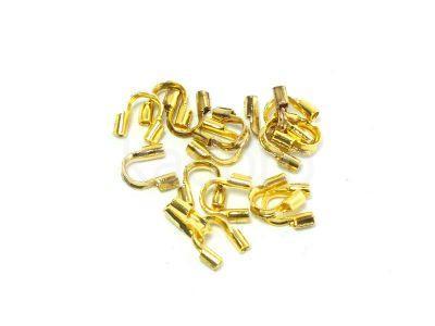 Osłonka linki złota 4.5x4 mm - 10 sztuk