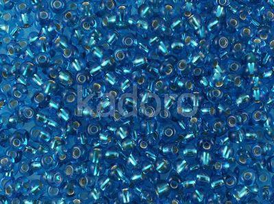 PRECIOSA Rocaille 6o-Silver-Lined Aquamarine - 50 g