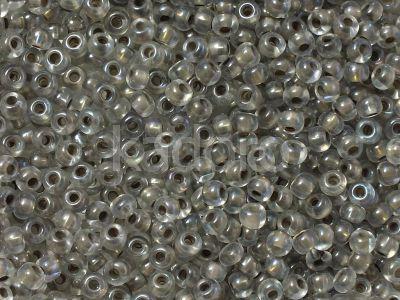 PRECIOSA Rocaille 6o-Taupe-Lined Rainbow Crystal - 50 g
