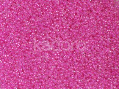PRECIOSA Rocaille 8o-Hot Pink-Lined Crystal - 50 g