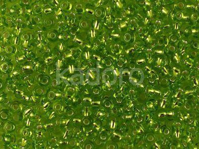 PRECIOSA Rocaille 8o-Silver-Lined Lime Green - 50 g