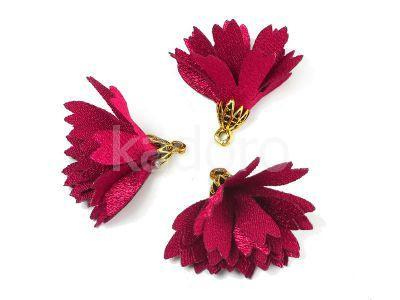 Kwiatek purpurowy 30 mm - 1 sztuka