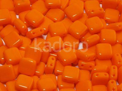Tile 6mm Opaque Orange - 20 sztuk