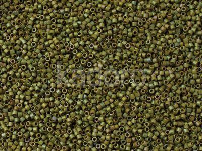 Miyuki Delica DB0372 Matte Metallic Lt Yellow-Green AB - 5 g