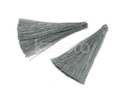 Chwost srebrny 70x8 mm - 1 sztuka