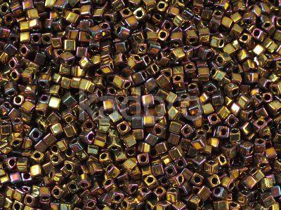 Miyuki Square 1.8mm-462 Higher-Metallic Iris Gold - 5 g