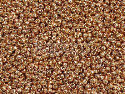TOHO Round 15o-551 Galvanized Rose Gold - 5 g
