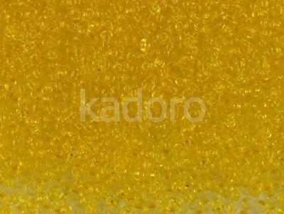 PRECIOSA Rocaille 11o-Dyed Yellow  - 50 g