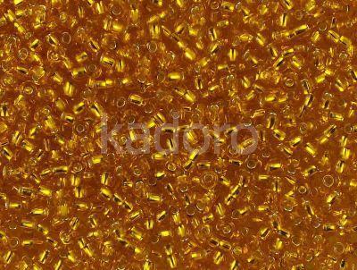 PRECIOSA Rocaille 8o-Silver-Lined Amber - 50 g