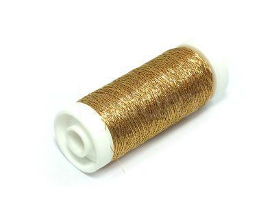 Nici metalizowane Conitex mini.rona złote - 100 m