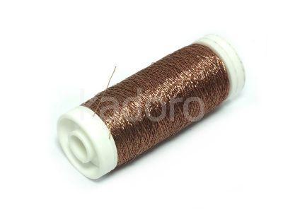Nici metalizowane Conitex mini.rona cynamonowe - 100 m