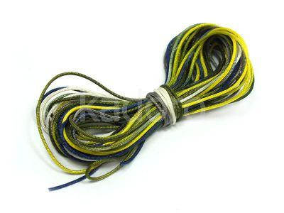 Sznurek nylonowy kolorowy 0.7 mm - 3 m