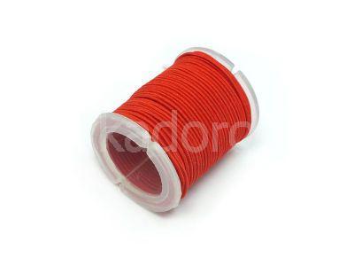 Gumka okrągła czerwona 1.0 mm - rolka