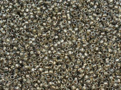 TOHO Round 15o-993 Gold-Lined Black Diamond - 5 g