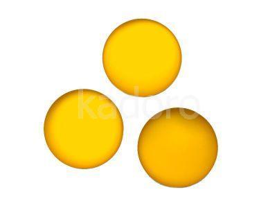 Kaboszon Lunasoft Lemon koło 24 mm - 1 sztuka