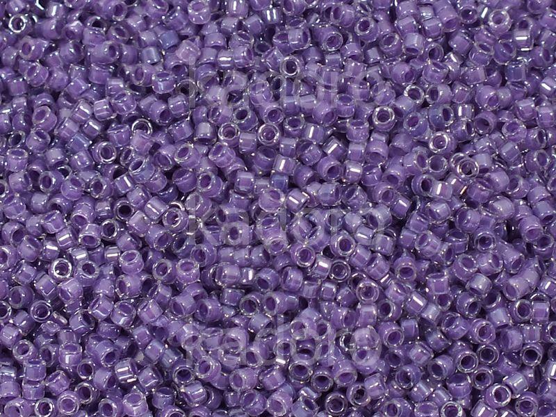 TOHO Treasure 12o-936 Inside-Color Crystal - Dark Lilac Lined - 5 g