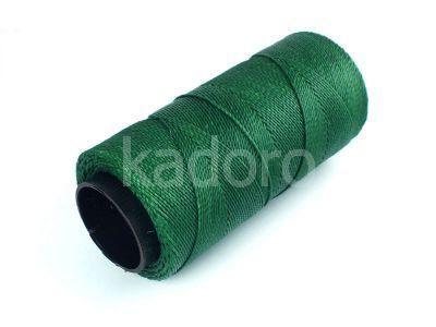 Sznurek brazylijski Forest Green 1mm - 3 m