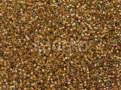 Miyuki Delica DB1703 Copper Pearl Lined Chartreuse - 5 g