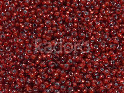 PRECIOSA Rocaille 8o-Blue-Lined Ruby - 50 g