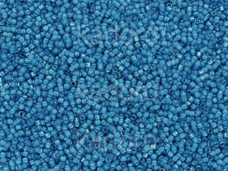 Miyuki Delica DB1783 Capri Blue Inside Dyed White - 5 g