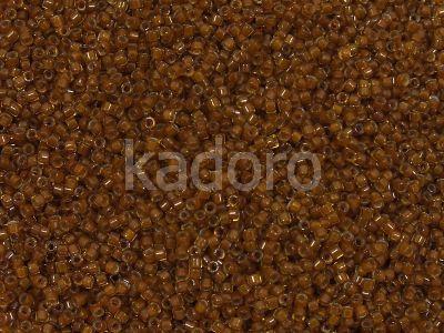 Miyuki Delica DB1391 Mustard Lined Amber - 5 g