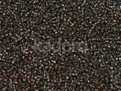 Miyuki Delica DB1710 Copper Pearl Lined Olive - 5 g