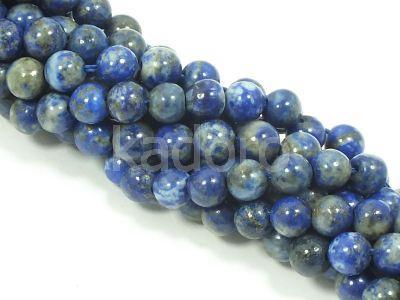 Lapis lazuli kula 6 mm - sznur 39 cm