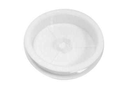 Gumka 0.4 mm biała - rolka
