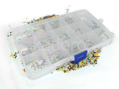 Organizer prostokątny 10x17.5 cm - 1 sztuka