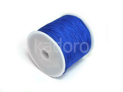 Sznurek ozdobny ciemnoniebieski 0.8 mm - 3 m