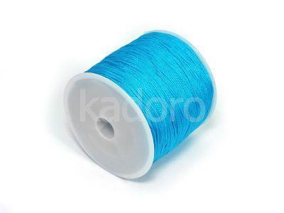 Sznurek ozdobny niebieski 0.8 mm - 3 m