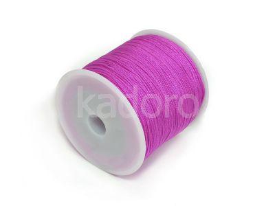 Sznurek ozdobny purpurowy 0.8 mm - 3 m