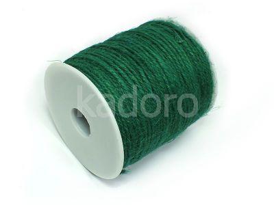 Sznurek konopny zielony 2 mm - 3 m