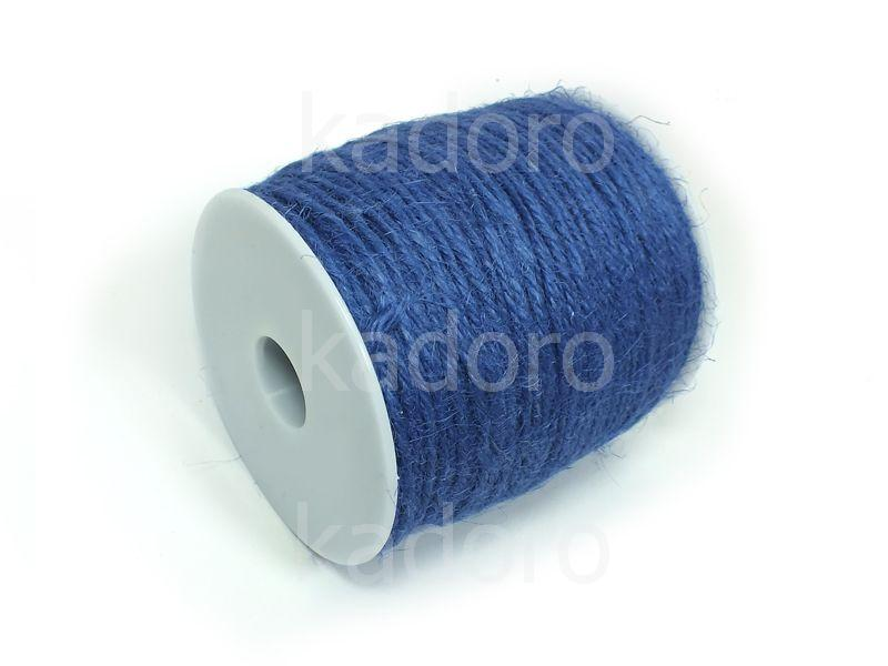 Sznurek konopny niebieski 2 mm - 3 m