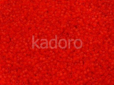 Miyuki Delica DB0745 Matte Transp. Red - 5 g