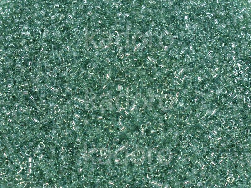 Miyuki Delica DB0112 Transp. Aqua Glazed Luster Lt. Green - 5 g