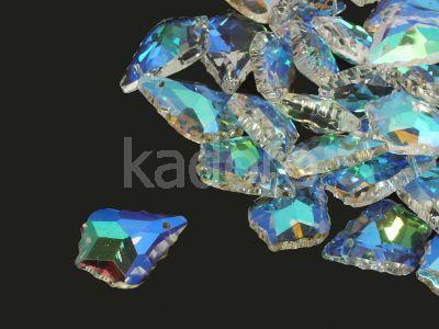 Szklana kropla Crystal AB 22 mm - 1 sztuka