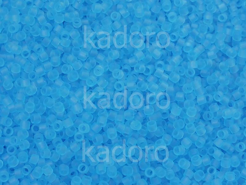 TOHO Treasure 12o-3F Transparent-Frosted Aquamarine - 5 g
