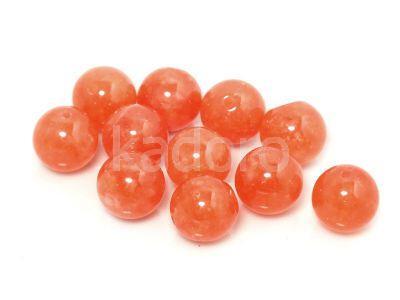 Jadeit herbaciany kula 10 mm - 2 sztuki