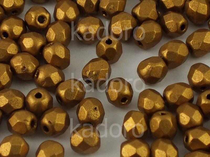 FP 4mm Matte Metallic Goldenrod - 50 g