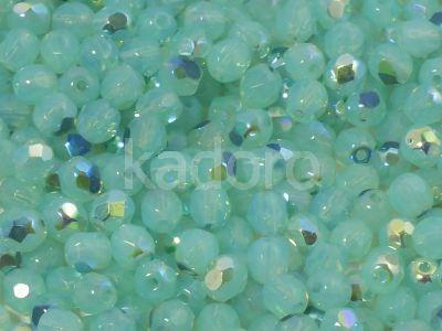 FP 4mm Opal Aquamarine AB - 40 sztuk