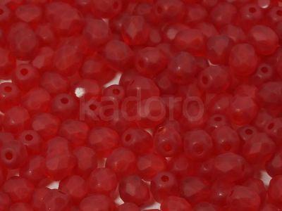 FP 4mm Matte Siam Ruby - 50 g