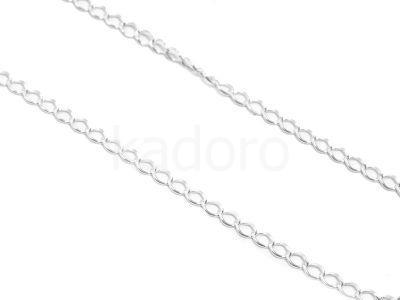 Łańcuch ogniwo skręcane 2mm - 10 cm